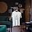 Minimalist Plant Design Eucalyptus Print T-Shirt Vintage Botanical Style T-Shirt