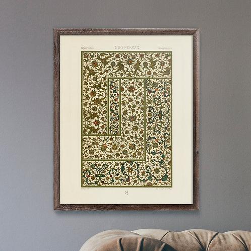Albert Racinet - Indo Persian Pattern (A3 Print) - Mint