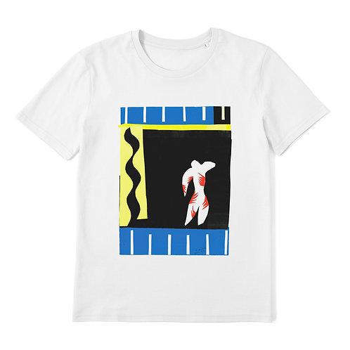 HENRI MATISSE - Cut-Out - 100% Organic Cotton Unisex T-Shirt featuring Classic Art
