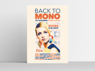 Back To Mono - 60s Club Night in Lincoln