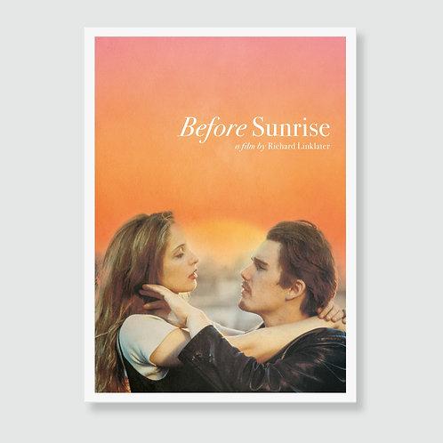 BEFORE SUNRISE (Richard Linklater) Film Art Print / Movie Poster