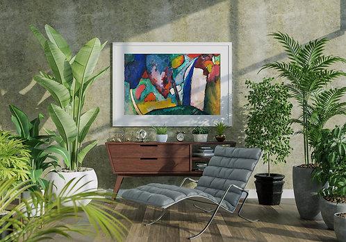 Wassily Kandinsky - The Waterfall