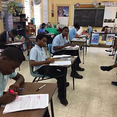 Hurricane Maria and Irma relief Adopt a classroom program