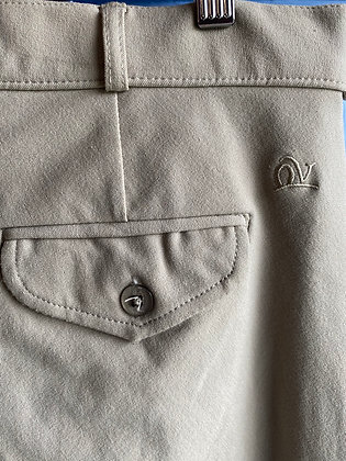 10567Oet Ovation Tan Knee Patch Breeches