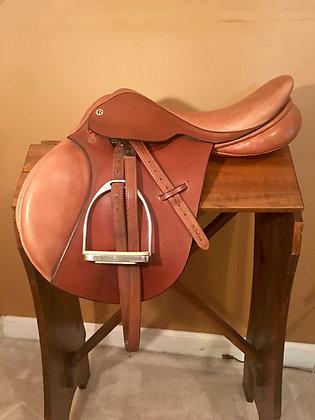 #917 Barnsby Milton Saddle 17.5