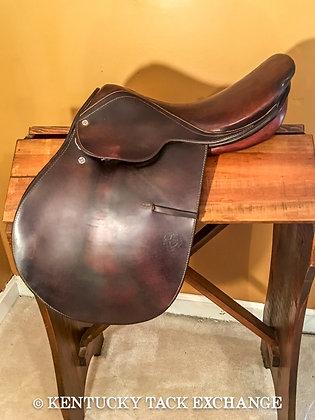 #1751 Courbette Saddle 16.5