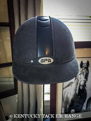 #3725 GPA Black Riding Helmet
