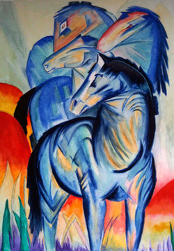 Tower of Blue Horses (Franz Marc)