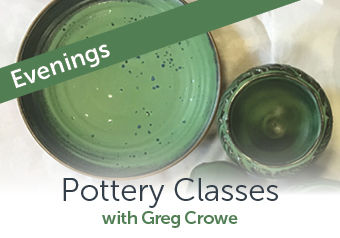 Evening Pottery Classes with Greg Crowe