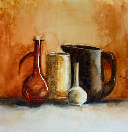 Still Life of Earthenware