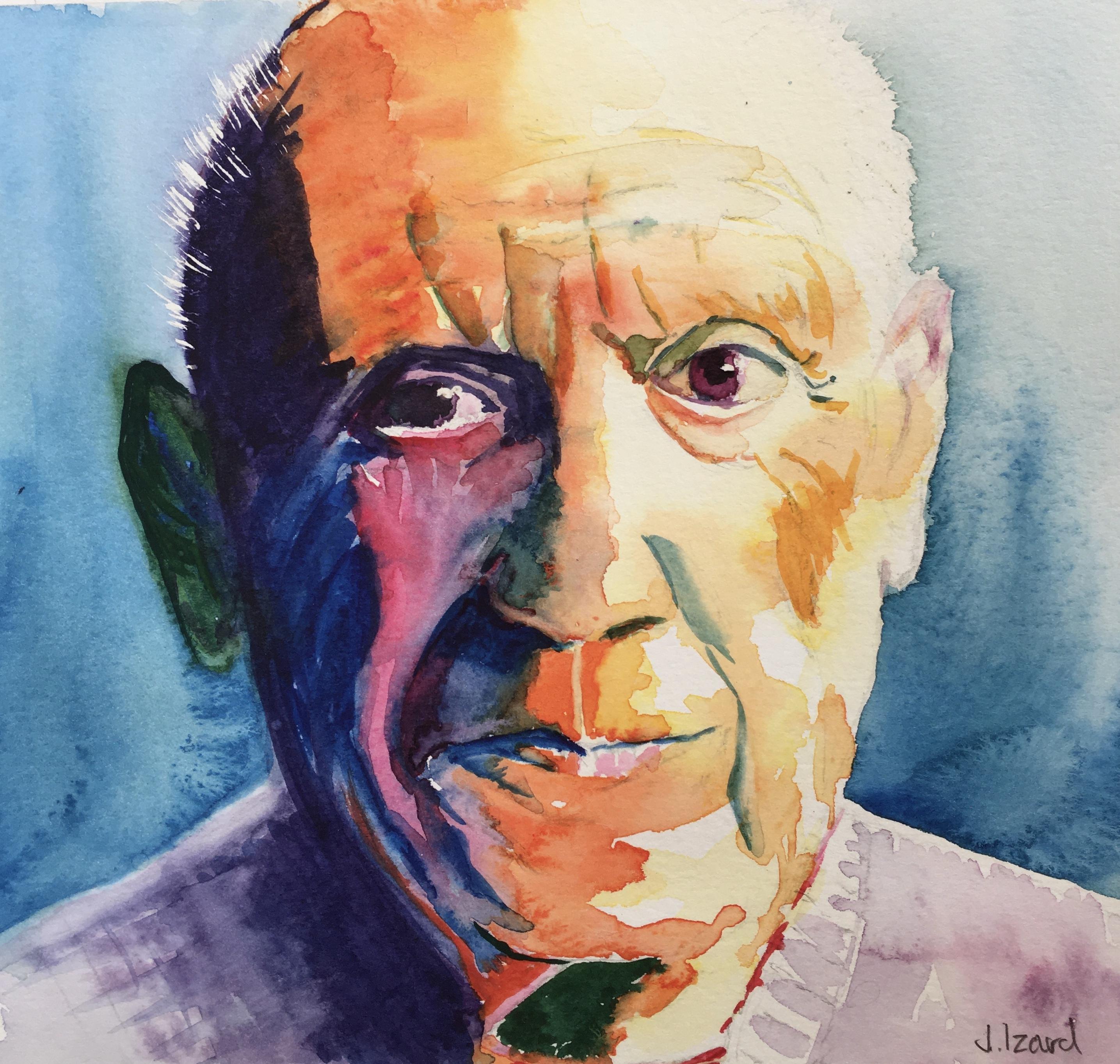 Pensive Picasso
