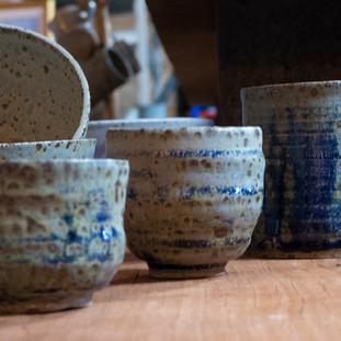 Tea Bowls by Dee Parker