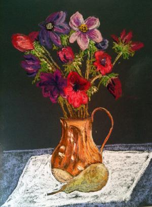 Anemone in Vase