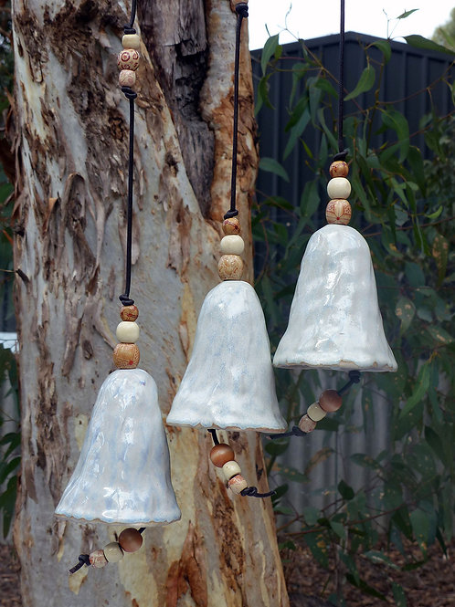 Pearl White Wind Chime Bells