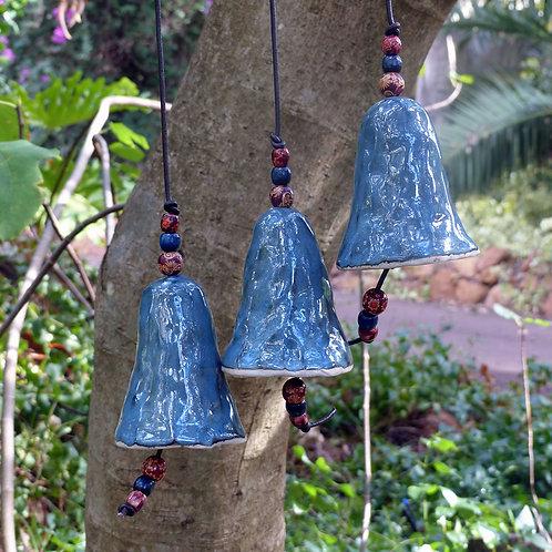 Blue Wind Chime Bells