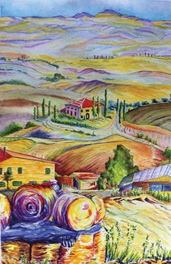 Tuscany Scene