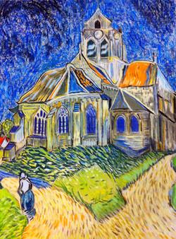 Church at Auvers (Van Gogh)