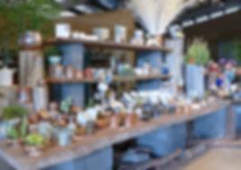 White Peacock Studios Shop display