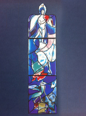 Stained Glass Window (Chagall)