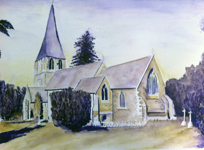 St Pauls Church, Langleybury