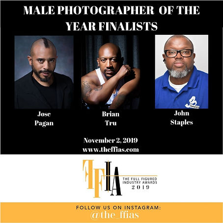 MALE PHOTOGRAPHER OF THE YEAR FINALISTS.