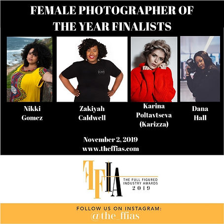 FEMALE PHOTOGRAPHER OF THE YEAR FINALIST