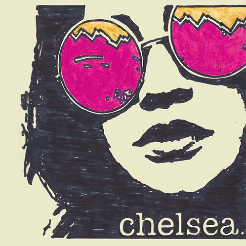 Chelsea. sticker