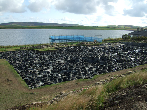 Easy uncovering at the Ness of Brodgar!