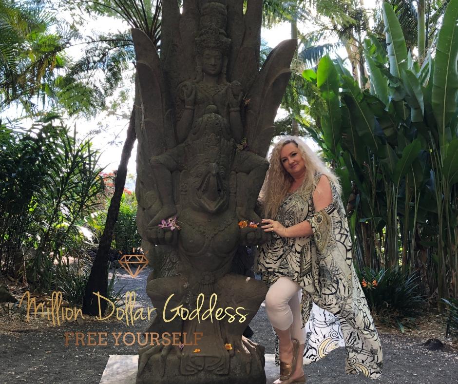 million dollar goddess statue