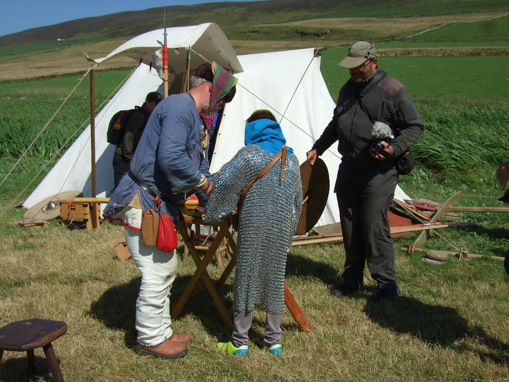 A young Viking at Swandro