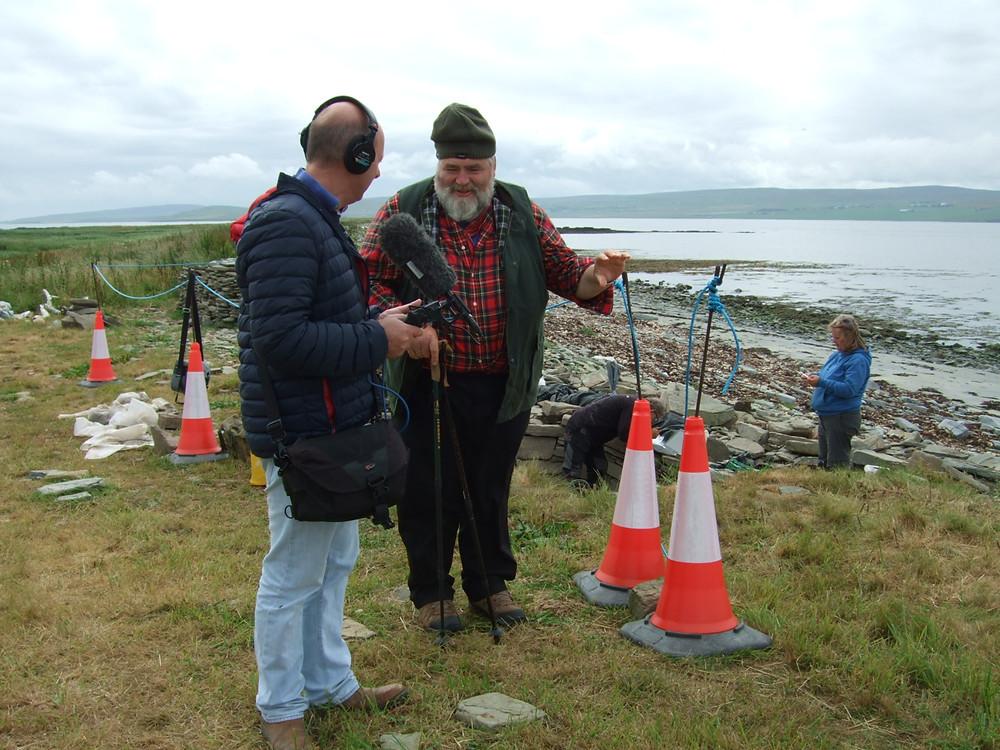 Radio Orkney on site