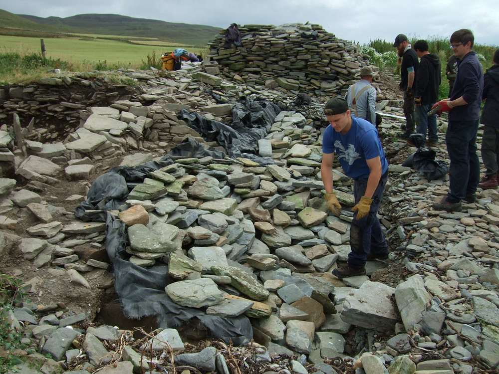 Backfilling at Swandro Orkney