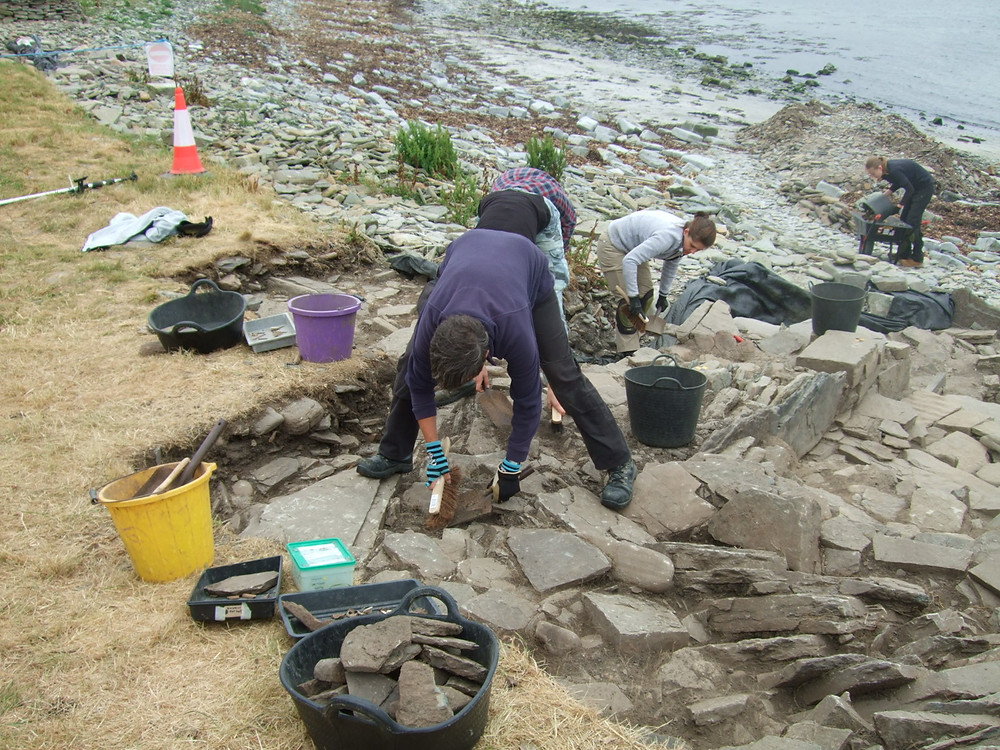 Jackie McKinley from the Time Team at Swandro