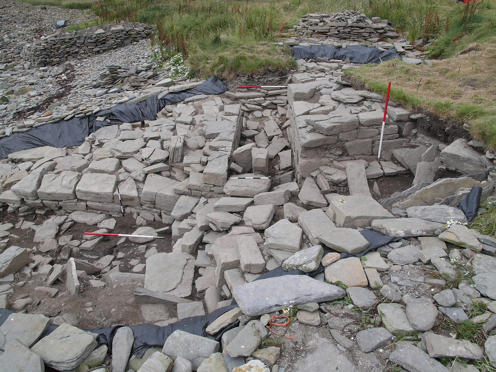 Swandro's chambered tomb entrance