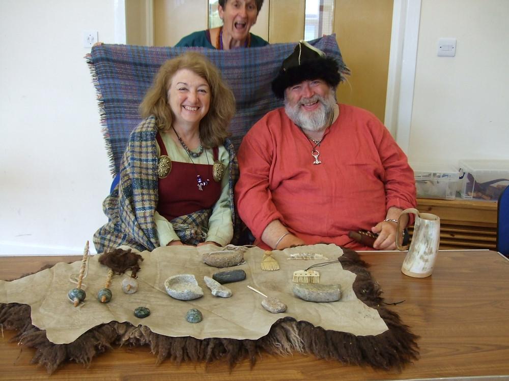 Happy Vikings at Swandro, Orkney