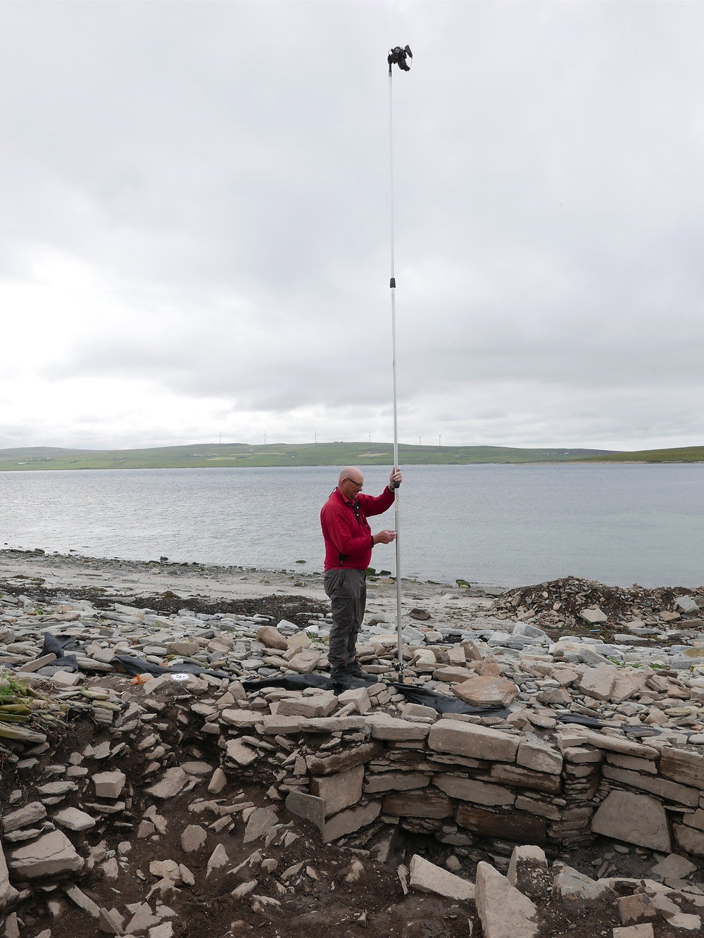 Lindsay Kemp & his photogrammetry array at Swandro