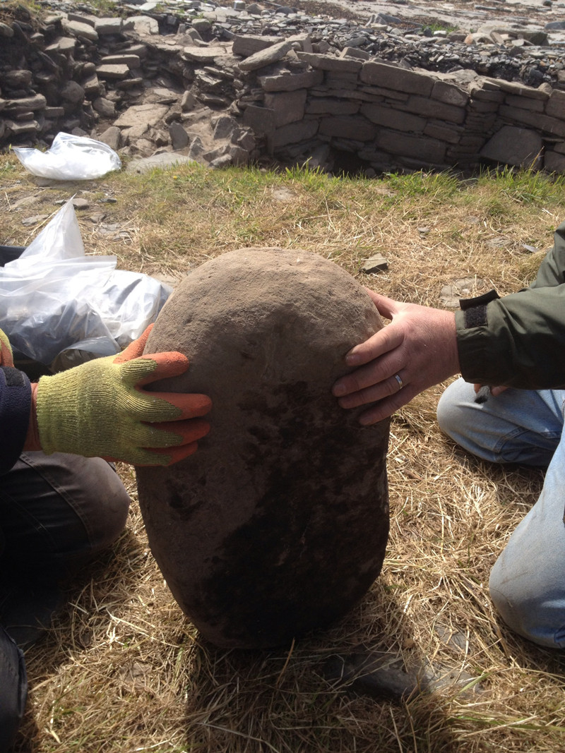 Anvil from our Pictish Smithy at Swandro, Orkney