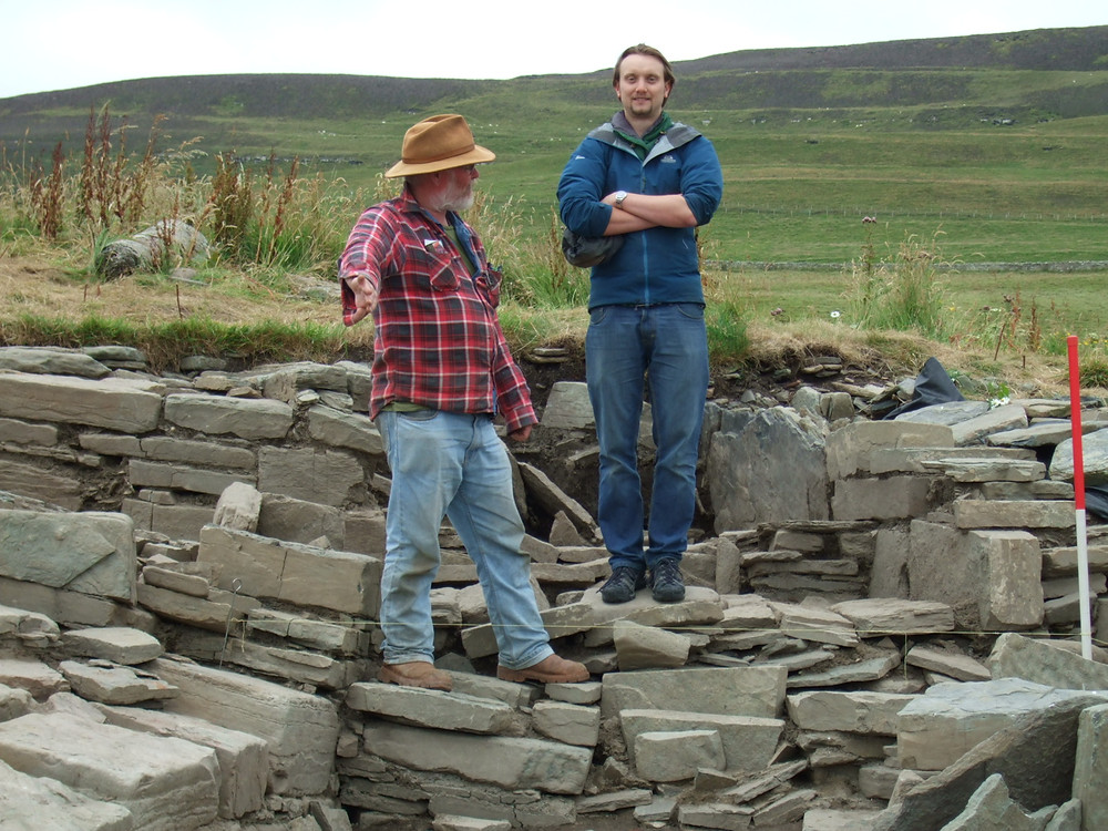 Possible earth house or souterrain at Swandro, Orkney