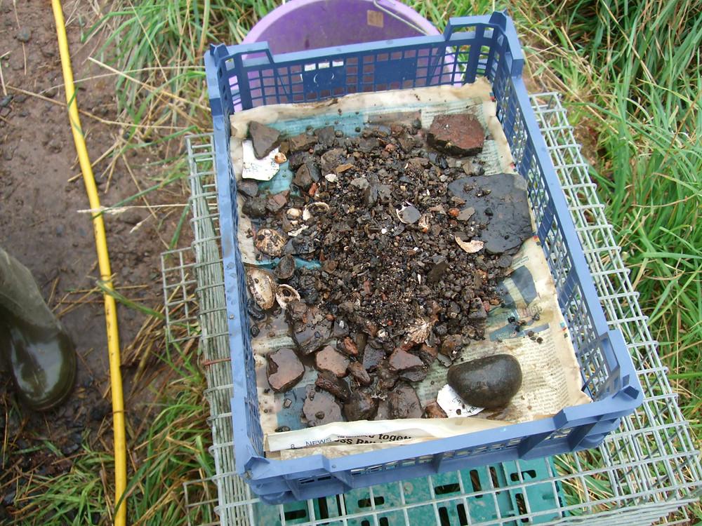 Flot grot aka residue