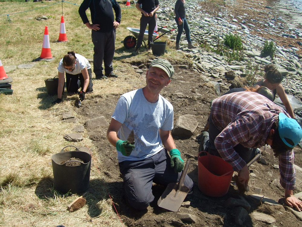 A cheery Peter in his stylish hat at Swandro