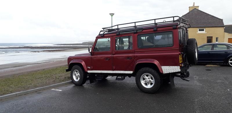 The new Swandro Land Rover aka the SwandRover