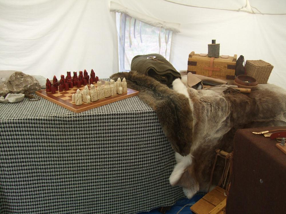 chess and hnefatafl at Swandro