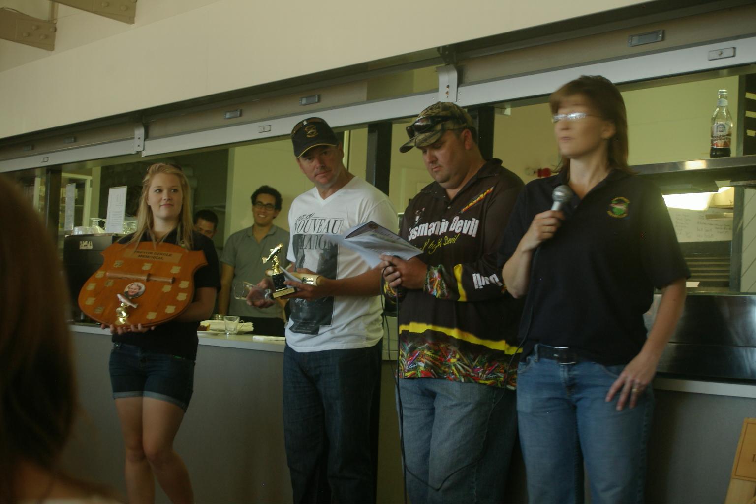 trophy presentations