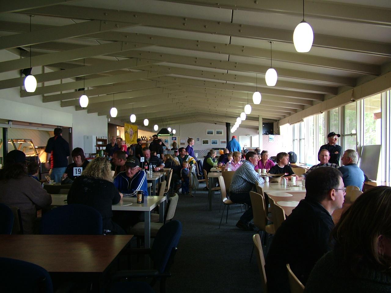 breakfast in chalet 2011