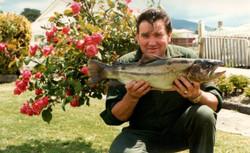 Kim and fish at home297