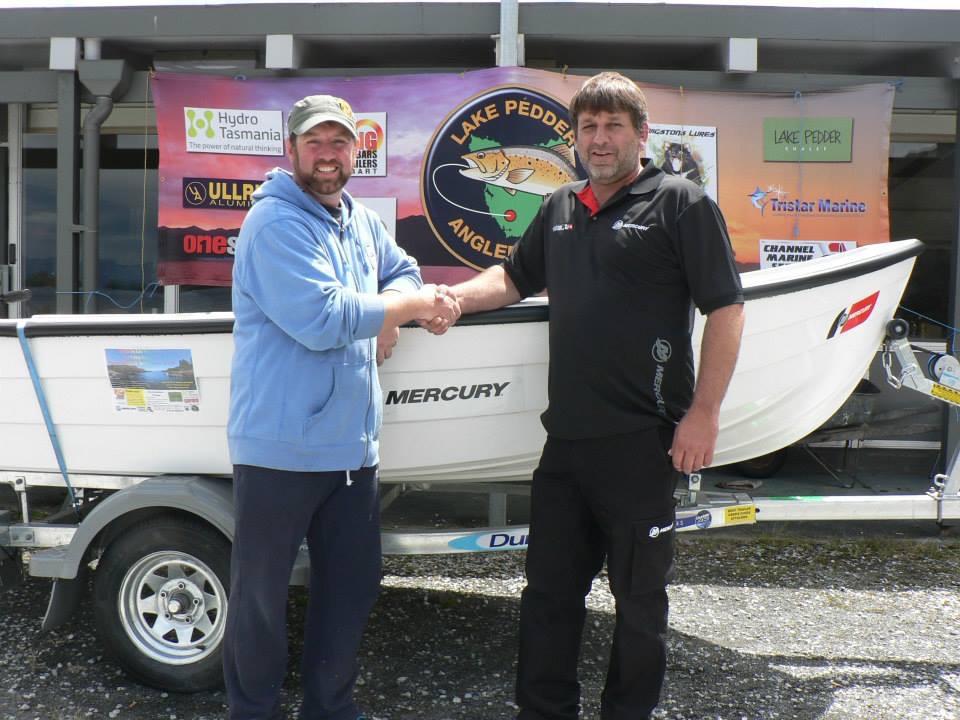 Allen Stennings with Allen Riley from Channel Marine
