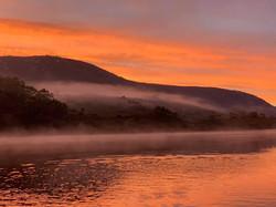 Sunrise strathgordon bay