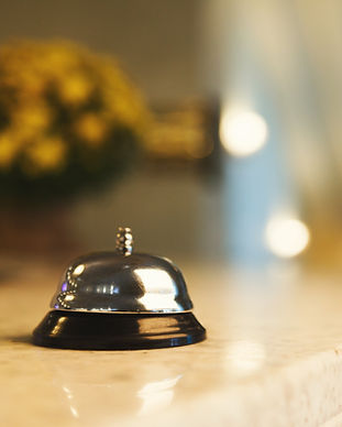 hotel-accommodation-call-bell-on-recepti