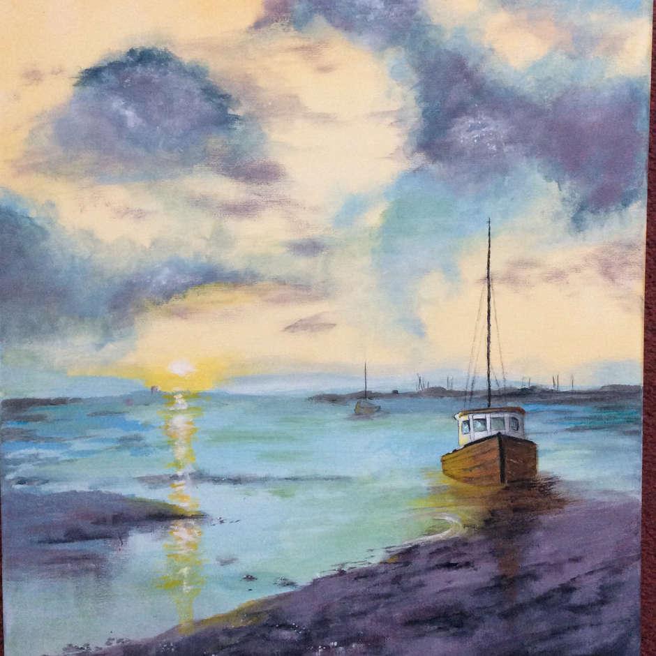 Low Tide by Pam Gravett