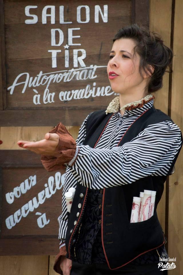Cie Balle Perdue - Le salon de tir Photo